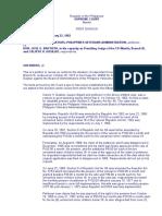 Board of Administrators of the PVA vs Bautista