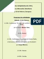 Jornadas Antiglobalización 2011