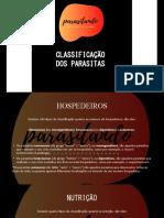 Parasitando - Classificação