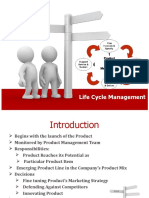 Life Cycle Management -1