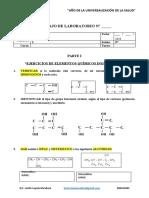 0. Ejercicios de quimica para II Unidad 2020 - I