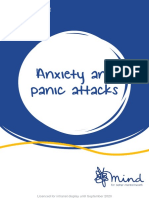 Understanding anxiety (Mind e-booklet)