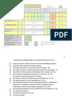 Indice de nacionalização em equipamentos - FINAME