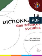 Jean-François DortierLe Dictionnaire des sciences sociales.pdf