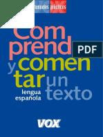 Comprender y comentar un texto - Larousse Editorial.pdf