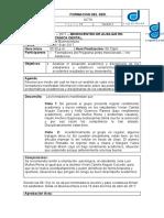 ACTA DE MICROCENTRO # 001