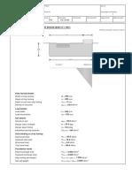 A. Strip footing analysis & design (BS8110)