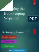 Book-keeping procedures
