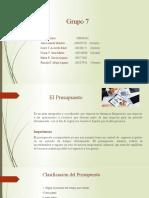 Presupuesto Grupo 7.pptx