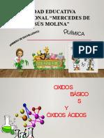 1ro Bach Oxidos Basicos y Oxidos Acidos