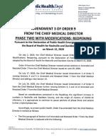 Order 9 Amendment 3 --Final -- Signed