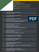 APSG-Drug LIST COMBINE