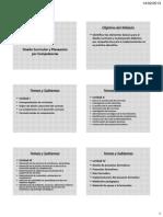 1. PP. Diseño Curricular y Planeación por Competencias