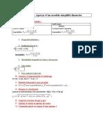 Fiche mathématiques pour finance