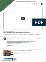 (8) Efecto Salir de Pantalla En 3 Minutos After Effects Tutorial - YouTube