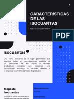 Características de las Isocuantas