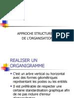 séance 4 approche structurelle de l'organisation