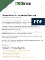 best AM3+ CPU pross ors