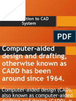 Introduction to CAD System