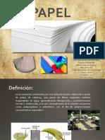 papel - textiles