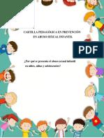 CARTILLA PEDAGOGICA DE PREVENCION EN ABUSO SEXUAL No 1
