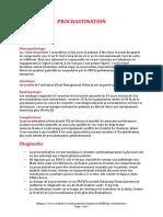 PROCRASTINATION (9 Pages - 193 Ko)