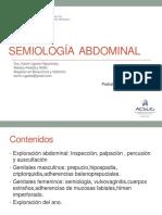 Semiologia abdominal