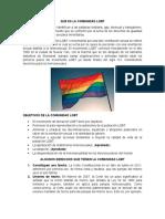 QUE ES LA COMUNIDAD LGBT