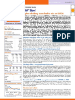 JSW Steel 1QFY20 result update - 190729 - Antique Research