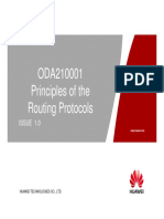 5  Principles of the Routing Protocols and Configurations Static Route
