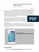 guidebeats.com-Root Samsung Galaxy J2 Prime SM-G532M Android 601 and Install TWRP Recovery