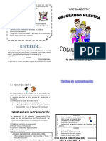 DIPTICO COMUNICACION