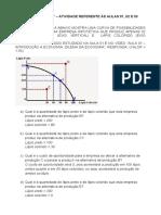 Portfólio 1 de Economia