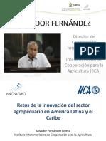 15 Retos de la Innovación del Sector (Salvador Fernández Rivera)