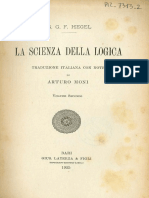 Hegel - Scienza della Logica - Moni 1925 - vol 2