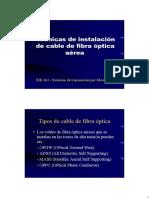 instalacion fibra optica