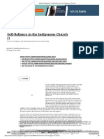 Ministry Magazine _ Self-Reliance in the Indigenous Church