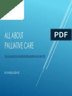 All About Palliative Care - Pci