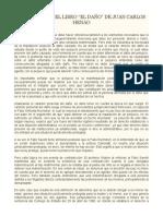Libro El Daño Juan Carlos Henao ensayo