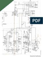 plano hidráulico y componentes prensa de lamina