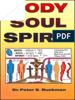 Body, Soul, And Spirit - Dr. Peter S. Ruckman 16 pgs