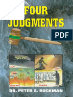 Four Judgments - Dr. Peter S. Ruckman 24 pgs