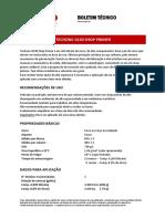 Boletim Tecnico TECHZINC 0130 SHOP PRIMER