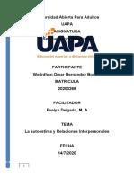 Ser HUMANO Y DESARROLLO TAREA 2.docx