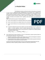 química-Exercícios sobre Nox e Reações Redox