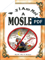 Why I Am Not A Moslem - Dr. Peter S. Ruckman 23 pgs