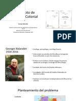 Balandier, El Concepto de 'Situación' Colonial
