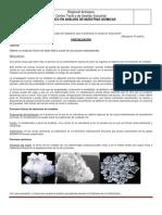 Guía práctica de Cristalización