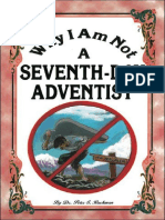Why I Am Not A Seventh-Day Adventist - Dr. Peter S. Ruckman 18 pgs