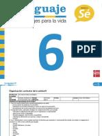 PlanificacionLenguaje6U5